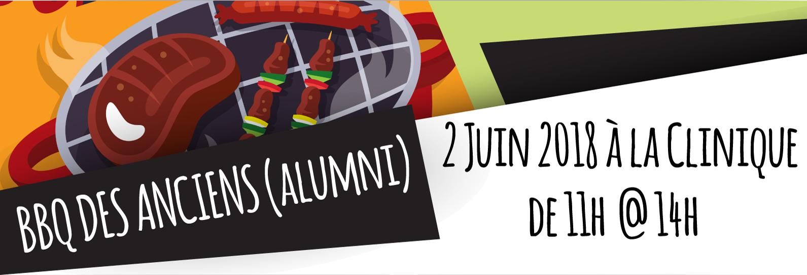 BBQ Des Anciens - Alumni Clinique Nouveau Depart 2 Juin 2018