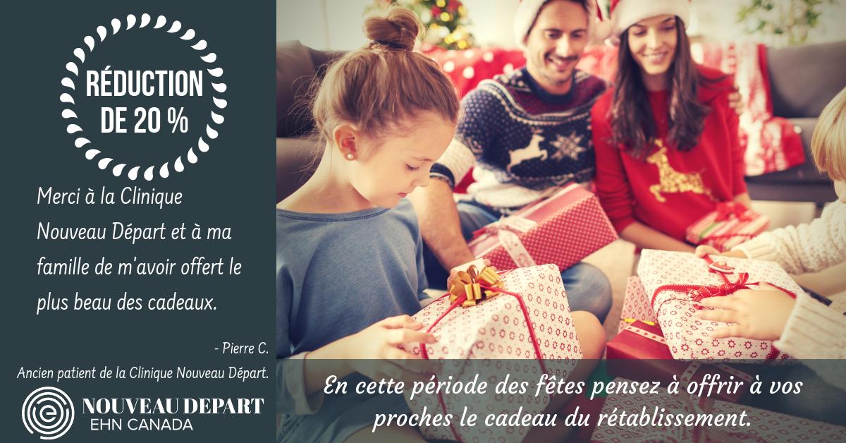 Christmas Promo Clinique Nouveu Depart