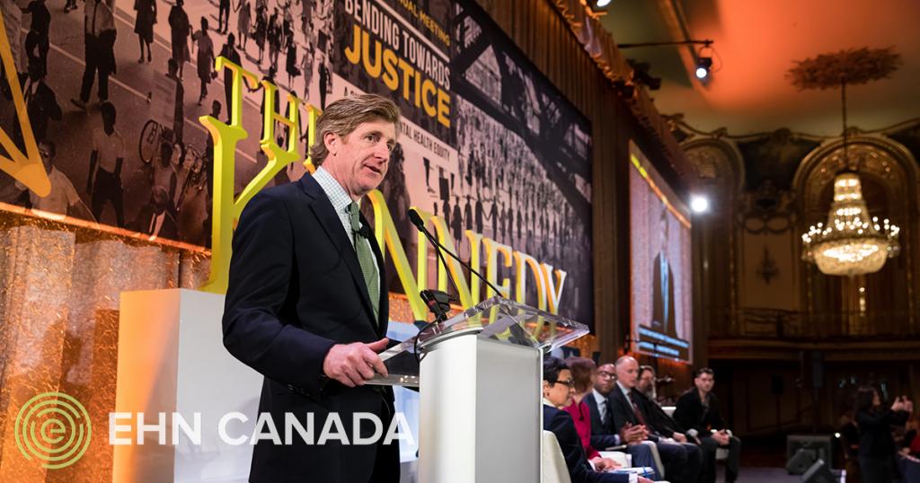 Patrick J. Kennedy rejoint le comité consultatif du EHN Canada