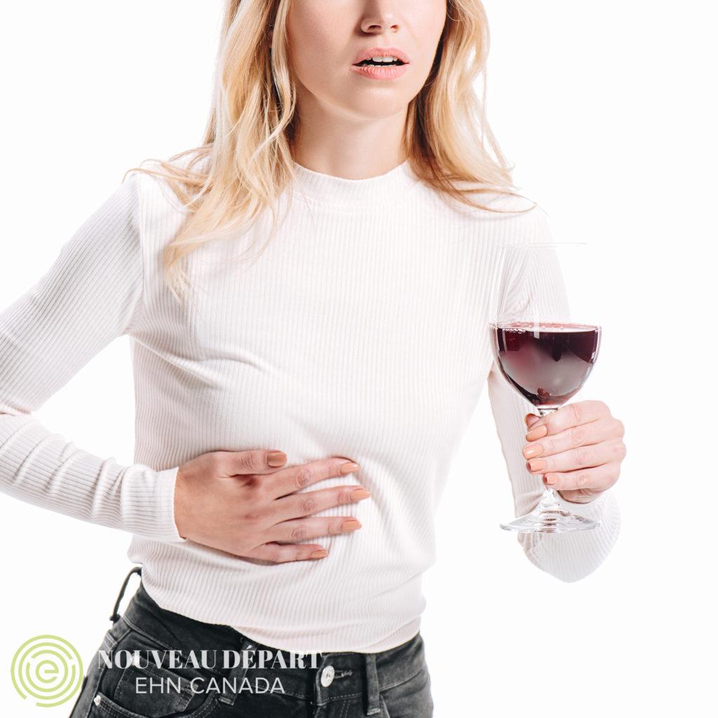 La consommation d'alcool et ses conséquences sur le foie